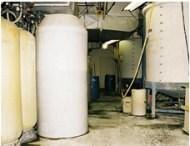 ZERO-DISCHARGE waste treatment facility