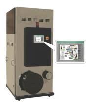 ES-1 desiccant-wheel dryer
