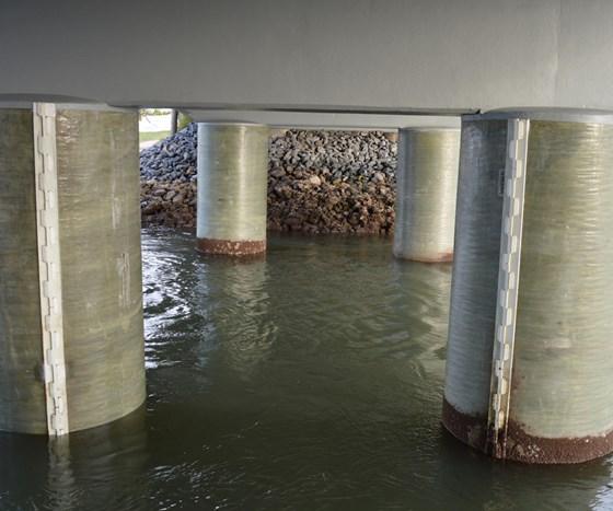 University of Southern Queensland Joinlox PileJax bridge repair