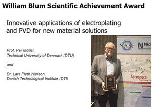 Innovative Applications of Electroplating and PVD for New Material Solutions - The 54th William Blum Lecture