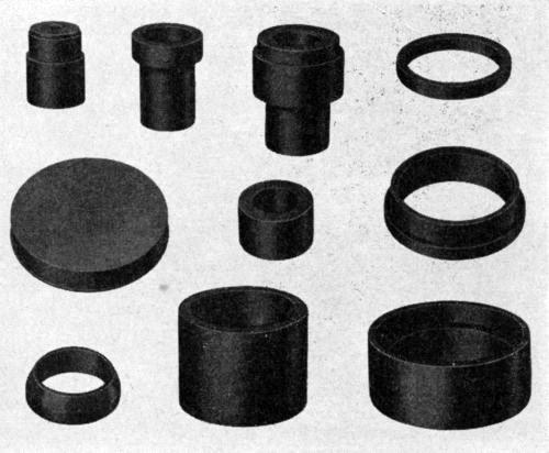 Plastics and Plating on Plastics [1944] image