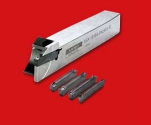 Swiss Tooling for Grooving and Cut-Off Operations