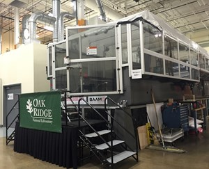 Tour of ORNL's Manufacturing Demonstration Facility
