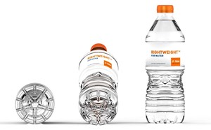 Sidel's Lightweight Bottle Design; An Example of Resin Savings