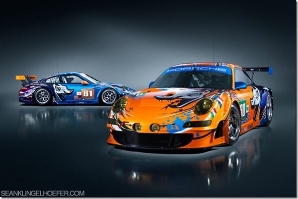 Troy Lee, Flying Lizard, Porsches, & Iconography Studios: Fast image