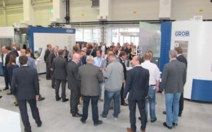 Grob Holds In-House Exhibition