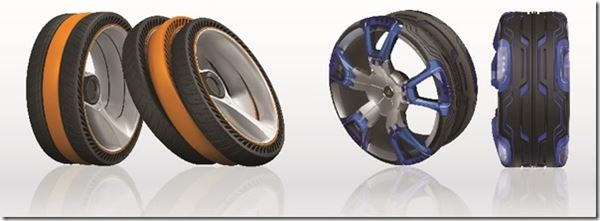 Hankook Award-Winning Conceptual Tires image
