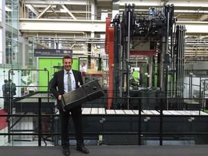 Engel: Full speed ahead on composites R&D