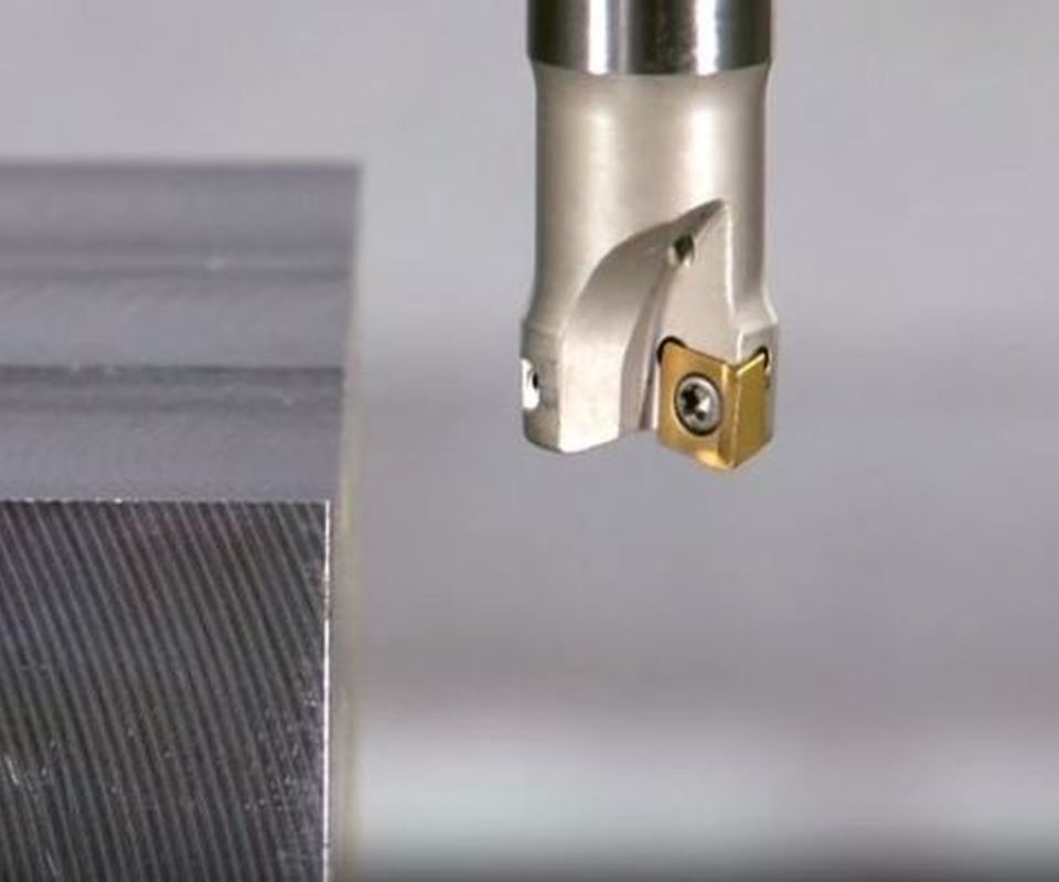 Video: Micro Insert for Live Tooling on Swiss Lathes