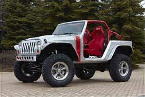 Jeeps Modified for Moab