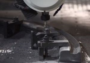 Large-format CNC routing for large CFRP parts