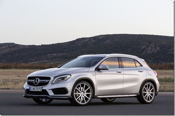 Mercedes Compact Demand/Production Grows image