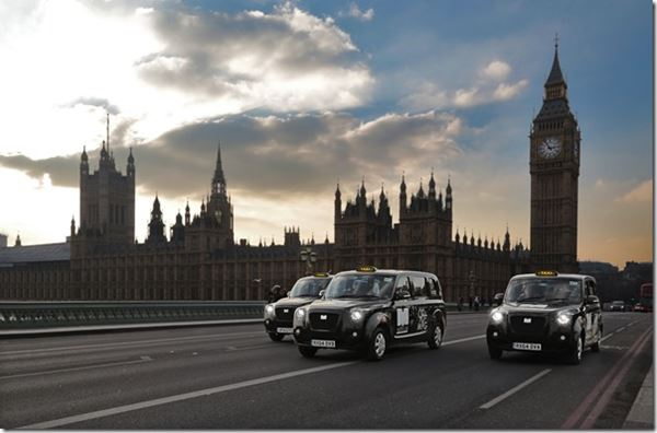 Extended-Range Electric Cab on Test in London image