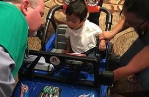 Axalta Sponsors, Builds Mobility Cars for GoBabyGo!
