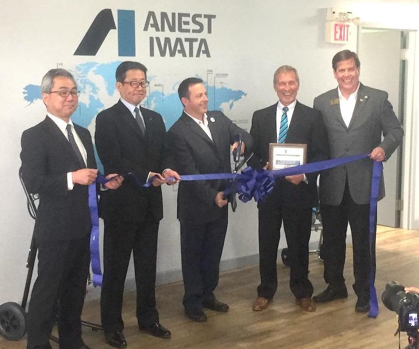 Anest Iwata Opens New U.S. Facility