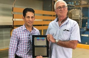 Hentzen Coatings Awards Newest Approved Applicator, PTF Industrial Coatings