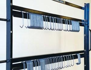 Magic Rack's Hook Organizer, Transport and Burn-off System Streamlines Production