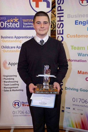 Apprentice Wins Top Honor
