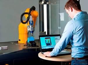 robot-based machine tool