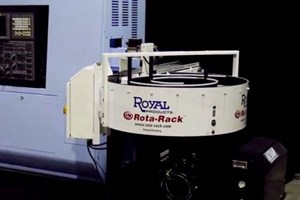 Video: Parts Accumulator Allows for Unattended Machining