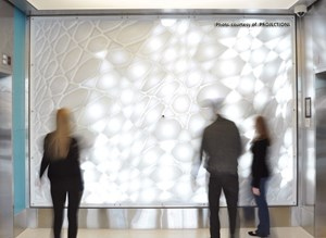 Acrylic Sheet Featured In Unique Reactive Art Installation