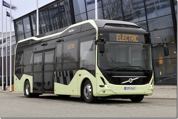 Volvo Goes Green image