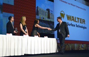 Walter Surface Technologies Wins Top Award By Grainger Mexico