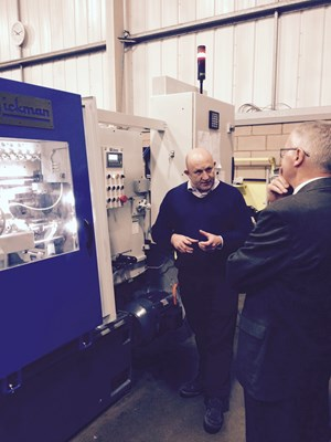 Visit to Wickman Reveals Interesting Machine and Application