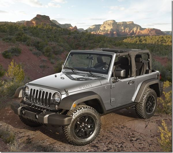2015 Jeep Wrangler Willys Wheeler image