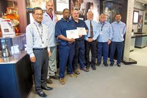 Canon Virginia Graduates First Class of Apprentices