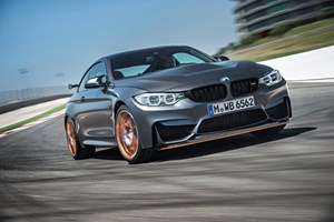 Filament winding, compression molding combine on BMW M4 GTS