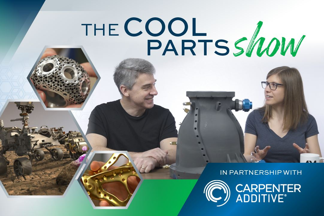 The cool parts show sponsored by carpenter additive