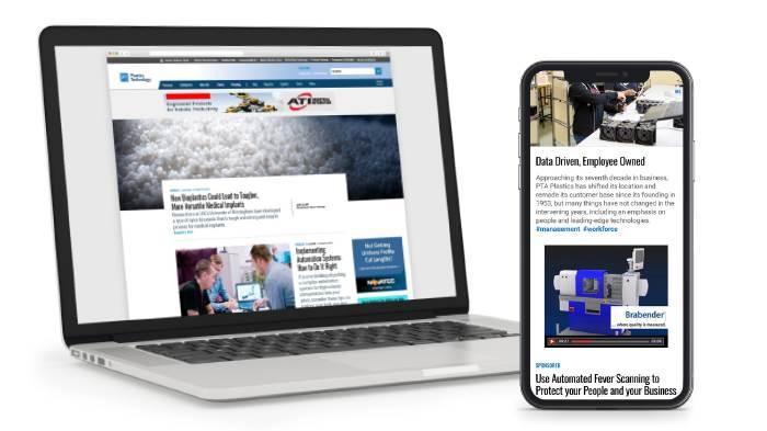 Gardner Web display advertising examples - phone and laptop