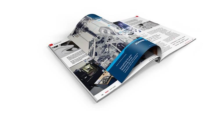 Gardner Business Media Magazine Spread