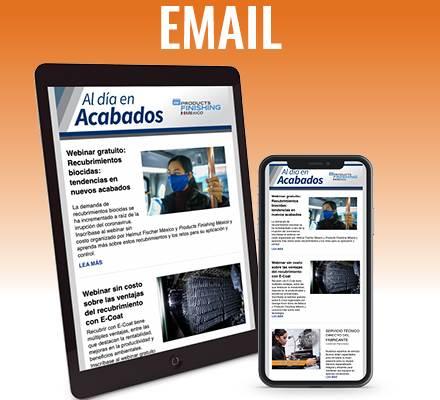 Products Finishing México Email