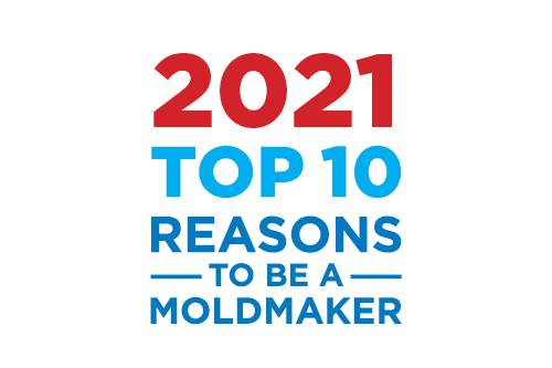Top 10 Reasons To Be A Moldmaker Logo