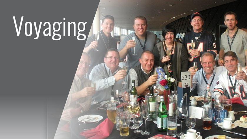 Voyaging  - travel with Gardner Business Media