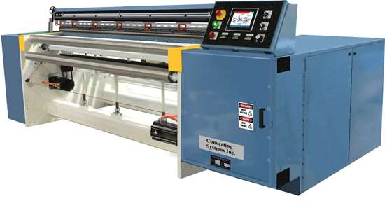 Converting Systems 1801V Vertical Head Bag Machine.