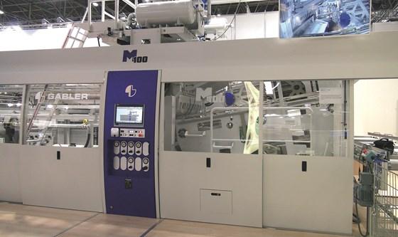 Gabler M100 tilt-bed machine