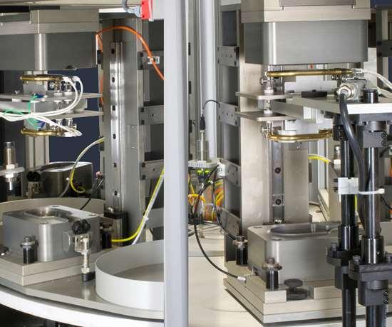 Dukane'sRotary Infrared Welding System