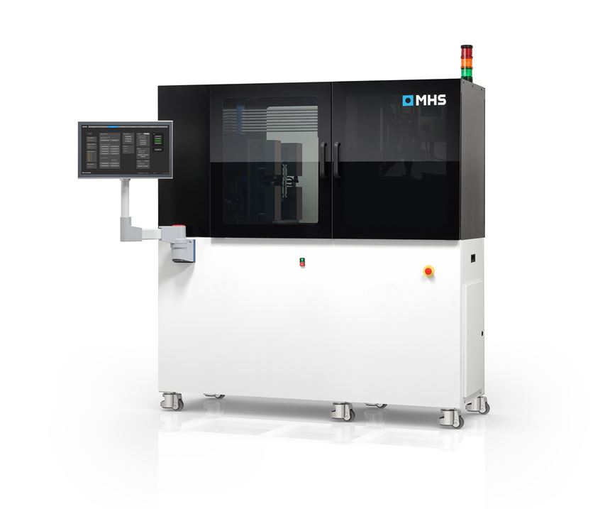MHS M3-D08 micro-injection molding machine.