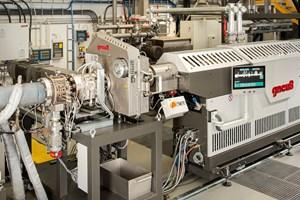Gneuss Processing Unit (GPU) dryerless PET extrusion