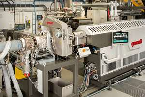 Gneuss Processing Unit (GPU) dryerless PET extrusion