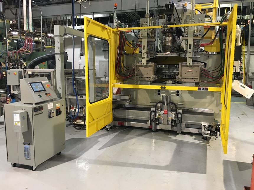 Lectro Engineering MTM 2001D takeaway for blow molded bottles
