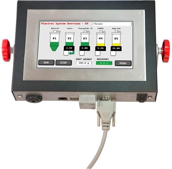 Plastrac Touchscreen Blender Control