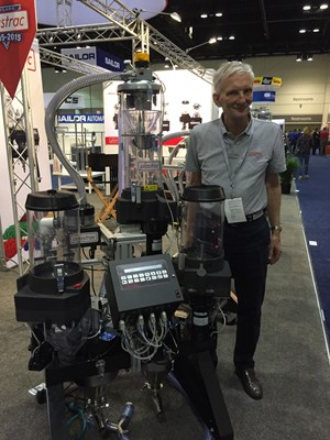 Plastrac cart-mounted blenders
