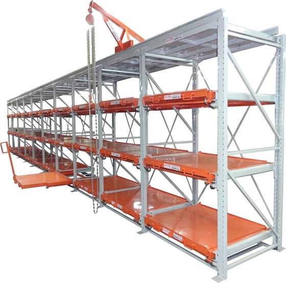 Brasfixo's rack system