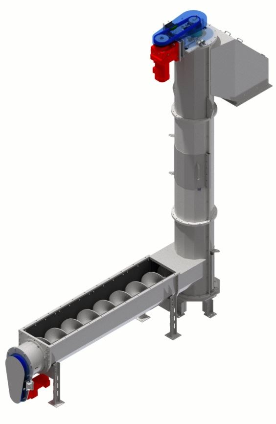 STF Group polygonal vertical and horizontal auger combination