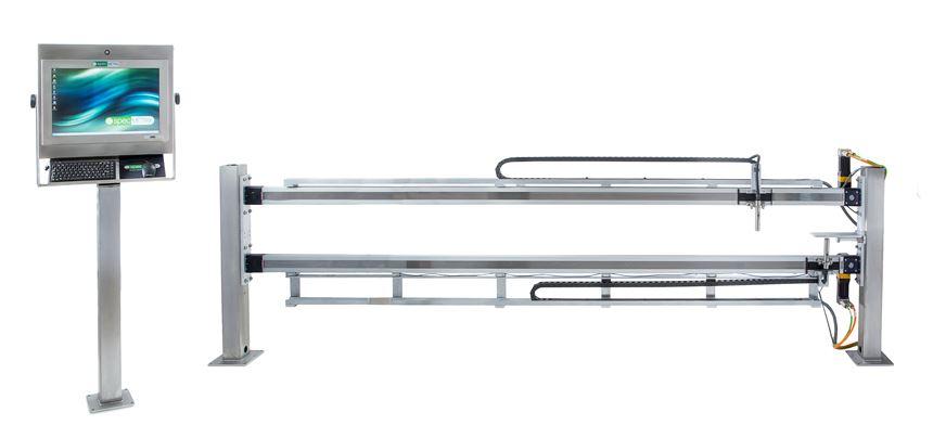 SpecMetrix Dual Traversing In-line Coating Measurement System