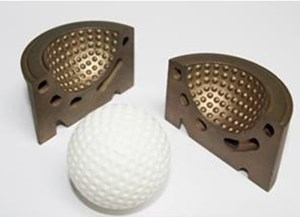 This Golf Ball Mold is Really Cool